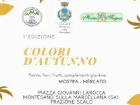 """Il 7 e l'8 ottobre la prima edizione di """"Colori d'autunno"""" a Montesano sulla Marcellana"""