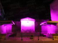 Vietri di Potenza si illumina di rosa per sostenere la ricerca sul cancro al seno