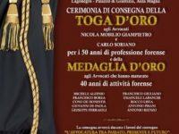 Tribunale di Lagonegro. Il 7 ottobre cerimonia di consegna delle toghe e medaglie d'oro