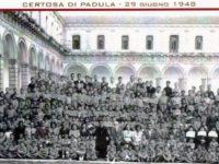 """Padula:il 15 ottobre """"La Giornata del Ricordo"""" per gli ex allievi dell'Orfanotrofio della Certosa"""
