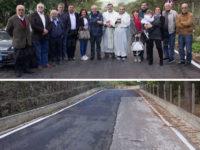 Riaperta la Strada Provinciale 342 a Roscigno grazie al sostegno della Banca Monte Pruno