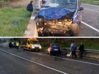 Incidente stradale ad Auletta. Auto sbanda e finisce fuori strada, ferito un 74enne di Pertosa