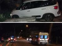 Sassano: auto sbanda e finisce fuori strada. Ferite due ragazze e un bambino