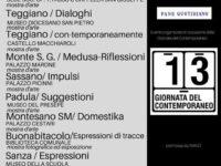XIII Giornata del Contemporaneo. Appuntamento con l'arte nel Vallo di Diano e nel Basso Cilento