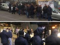 Senza stipendio, autisti di bus protestano davanti all'azienda di Potenza. Disagi per i pendolari