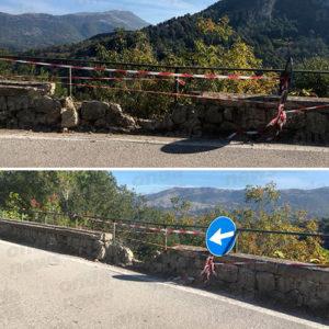 Dopo la caduta massi a Caselle in Pittari riapre al traffico la Strada Provinciale 16