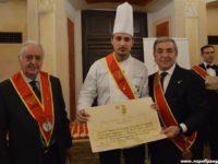 """Ad Andrea Contaldo,chef che ha formato tanti allievi della Valle del Sele, il riconoscimento """"Escoffier"""""""