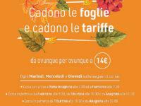 Autolinee Curcio. Per il mese di novembre speciale offerta per la linea Roma-Fiumicino