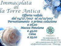Dal 4 al 10 dicembre – Immacolata al Villa Torre Antica
