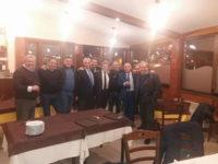 """Gianni Alemanno a cena nel Vallo di Diano. """"Stiamo lavorando per un centrodestra unito"""""""
