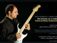 Il chitarrista pollese Sergio Sorrentino a Cuba per il Festival di Musica Contemporanea dell'Avana