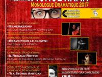 """Sala Consilina: prende il via il 5 novembre il 3° Festival """"MonoDrama"""" de """"La Cantina delle Arti"""""""