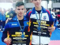 Il giovane atleta Angelo Giordano di Vietri di Potenza laureato vice campione del mondo di arti marziali