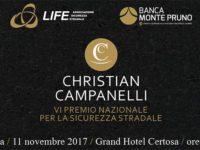 """Padula: domani la VI edizione del Premio Nazionale per la Sicurezza Stradale """"Christian Campanelli"""""""