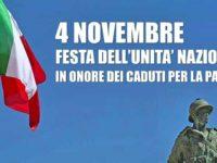 Domani,nel giorno delle Forze Armate e dell'Unità Nazionale,il Vallo di Diano celebra i caduti in guerra