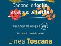 Dal 14 al 30 novembre speciale offerta delle Autolinee Curcio sulla linea per la Toscana