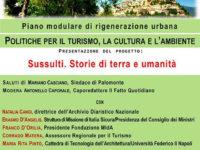 """Palomonte: il 23 novembre presentazione del progetto urbanistico """"Sussulti. Storie di terra e umanità"""""""