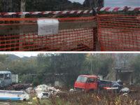 Rifiuti nell'ex cementificio di Sapri. Sequestrata in via preventiva l'intera area di località Pali