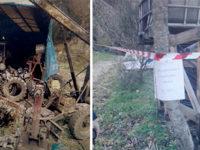 Carcasse di auto, pneumatici e liquidi infiammabili. Scoperta discarica abusiva a San Gregorio Magno