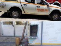 Doppio furto a Sicignano.Ladri rubano pick-up della Protezione Civile e i prodotti di un noto caseificio