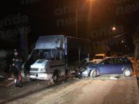 Teggiano:auto contro un camion in sosta.Feriti un ragazzo di Atena Lucana, un uomo e una donna del posto