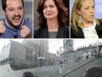 """Ventiduesimo sbarco di migranti a Salerno. Matteo Salvini:""""Altro sangue sulla coscienza dei buonisti"""""""