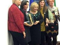 Veronica La Regina di San Rufo, esperta di business all'Agenzia Spaziale Europea, premiata dalla FIDAPA