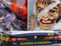 Addobbi di Halloween pericolosi in un negozio di Agropoli. La Finanza sequestra 652 prodotti