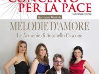 """Domani a Sant'Arsenio l'XI edizione del """"Concerto per la Pace"""" con il Maestro Antonello Cascone"""