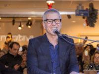 Michele Zarrillo ospite dei festeggiamenti per il primo compleanno del Centro Commerciale Diano