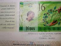 Banconota ideata dal Liceo Artistico di Teggiano inserita nel catalogo dei bozzetti della Banca d'Italia