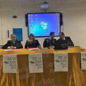 """Sala Consilina: Istituzioni e Forze dell'Ordine al """"Cicerone"""" per l'incontro sulla sicurezza stradale"""