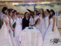 Gli abiti da sposa Justin Alexander protagonisti della sfilata dell'Atelier Antonietta Sabbatella