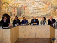 Teggiano: Tonia Cartolano, Angelo Amelio e il Procuratore Russo al corso di formazione per i giornalisti