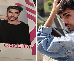 Daniele Pica, studente del Liceo Scientifico di Teggiano, scelto da una nota agenzia di moda italiana
