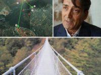 Atena Lucana avrà il suo ponte sospeso. L'ambizioso progetto dell'imprenditore Carmine Santangelo