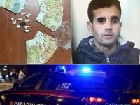 Tenta di disfarsi della droga alla vista dei Carabinieri. Arrestato 28enne marocchino ad Eboli