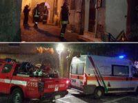 Padula: principio di incendio in un'abitazione del centro storico. I Vigili del Fuoco evitano il peggio