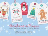 """Al via domani al Magic Hotel di Atena Lucana """"Natale al Sud"""", il calendario di eventi natalizi"""