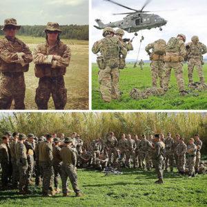 """Ad un giovane ufficiale di Lagonegro il prestigioso """"Green Beret"""" dei Royal Marines del Regno Unito"""