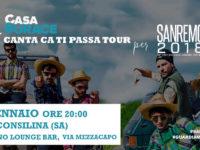 """Casa Surace a Sanremo 2018. Il 24 gennaio il tour """"Canta ca ti passa"""" fa tappa a Sala Consilina"""