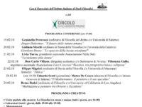 """Settimana della Filosofia al """"Pomponio Leto"""" di Teggiano. Il 22 gennaio conferenza stampa del progetto"""