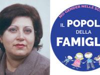 """Michelina Focarile di Sala Consilina candidata con il movimento politico """"Popolo della Famiglia"""""""