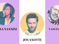 VIAGGI SPERANZA organizza concerto Nannini, Antonacci, Jovanotti, Emma, Vasco Rossi, Pausini, Baglioni