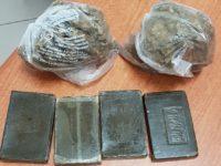 Marocchino nasconde in casa 1 kg di hashish e marijuana. Scoperto dai Carabinieri, li spintona e fugge
