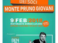 L'Associazione Monte Pruno Giovani convoca l'Assemblea Ordinaria dei soci per il 9 febbraio