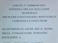 """Sant'Arsenio: domani """"Giornata ecologica"""" per raccogliere i rifiuti nelle campagne del territorio"""