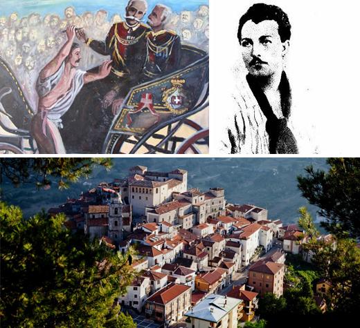 """Nasce """"Ode a Passannante"""",la canzone dedicata all'anarchico di Savoia di Lucania che attentò a Umberto I"""