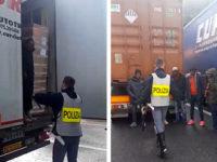 """Clandestini nascosti in un Tir della Curcio Trasporti. La ditta: """"Abbiamo collaborato con la Polizia"""""""