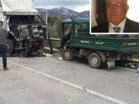 Incidente mortale a Caggiano. Dolore e sconforto tra la comunità per la scomparsa di Domenico Lamattina